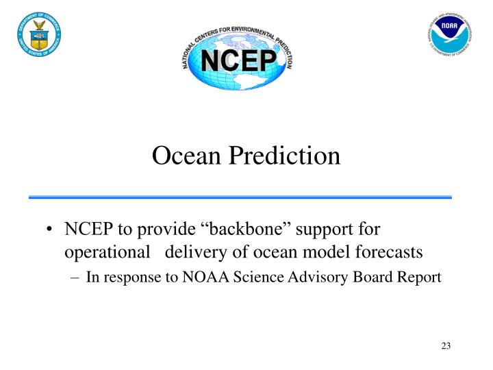 Ocean Prediction