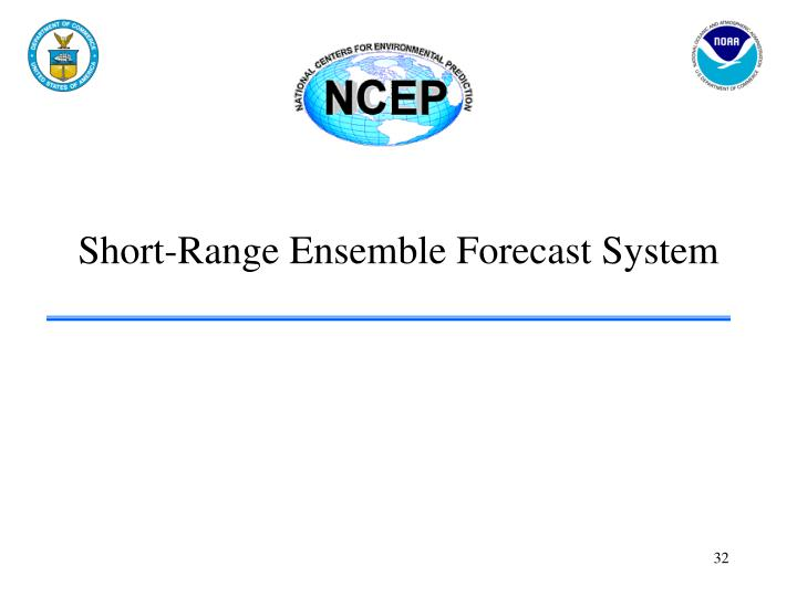 Short-Range Ensemble Forecast System