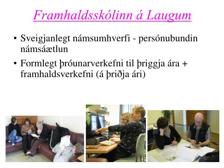 Framhaldsskólinn á Laugum