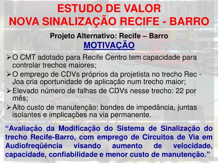 ESTUDO DE VALOR