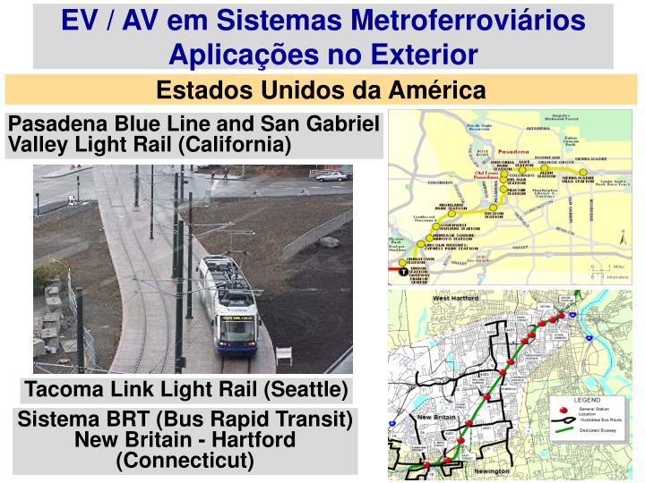 EV / AV em Sistemas Metroferroviários
