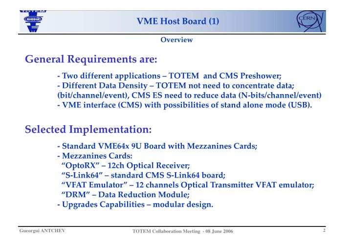 VME Host Board (1)