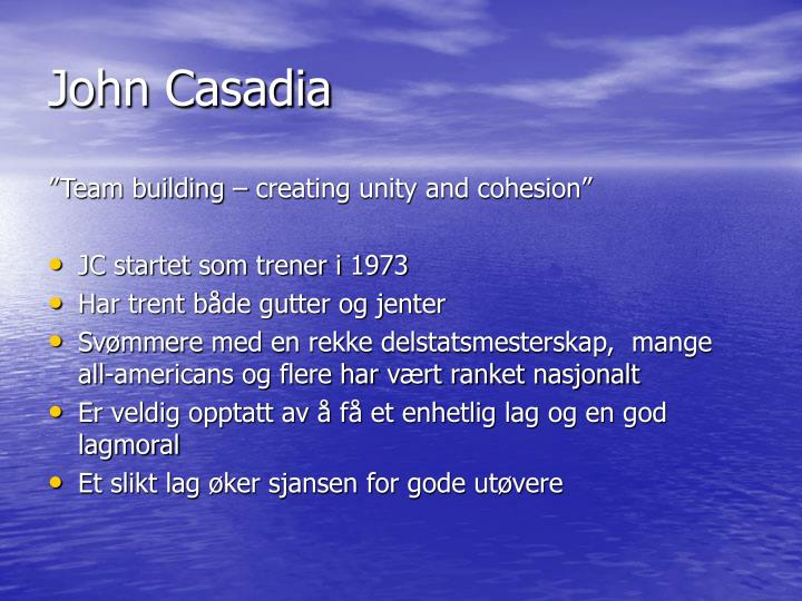 John Casadia