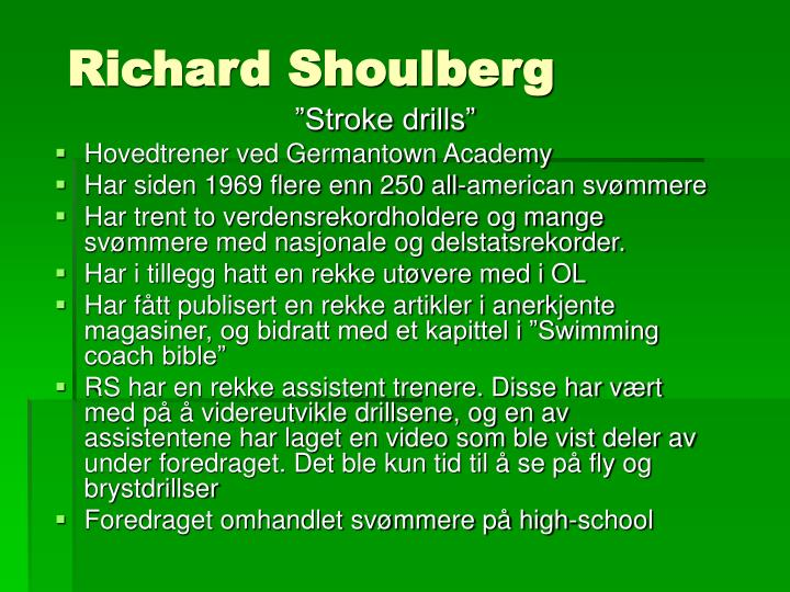 Richard Shoulberg