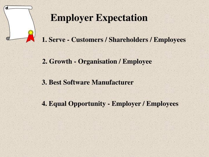 Employer Expectation