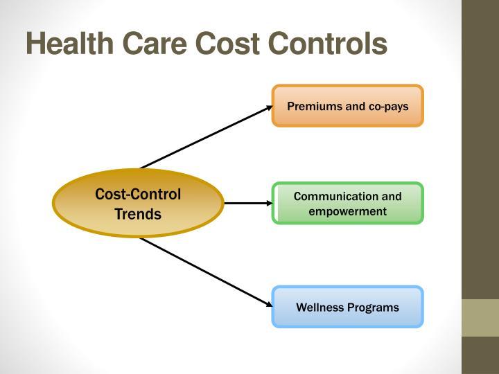 Health Care Cost Controls