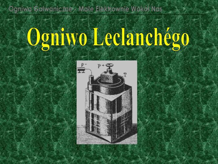 Ogniwa Galwaniczne - Małe Elektrownie Wokół Nas