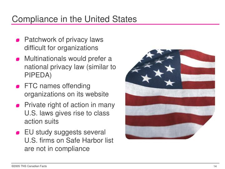 Compliance in the United States