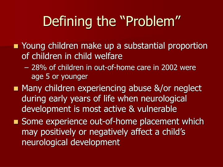 "Defining the ""Problem"""