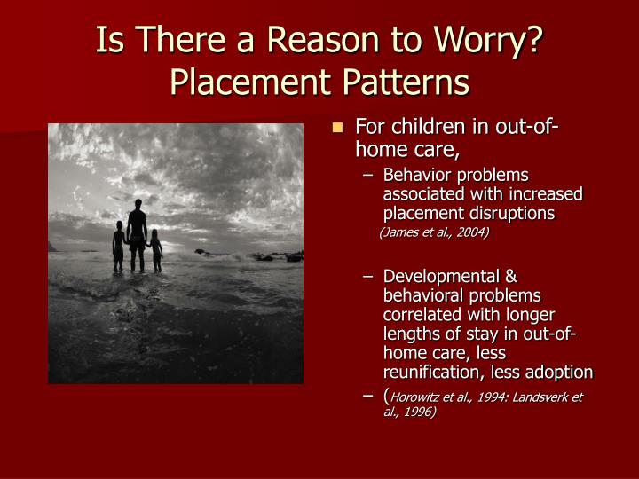 Is There a Reason to Worry? Placement Patterns
