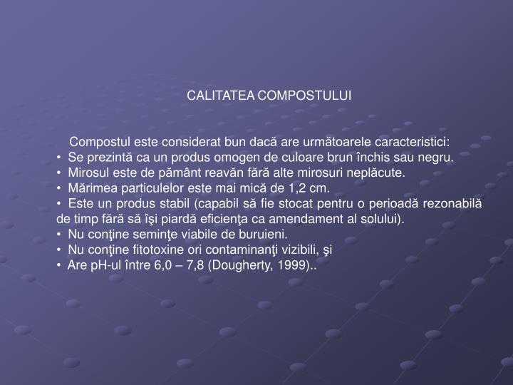 CALITATEA COMPOSTULUI