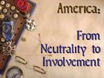 america from neutrality to involvement