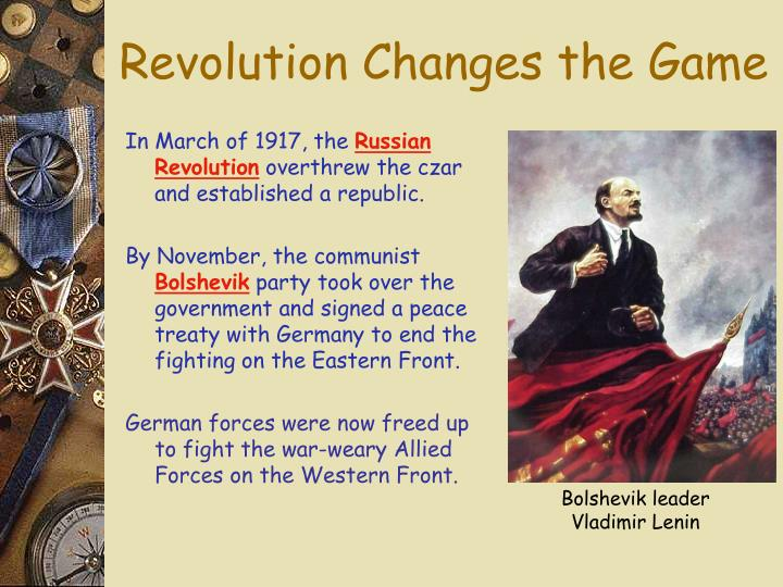 Revolution Changes the Game