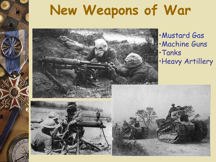 New Weapons of War