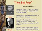 the big four1