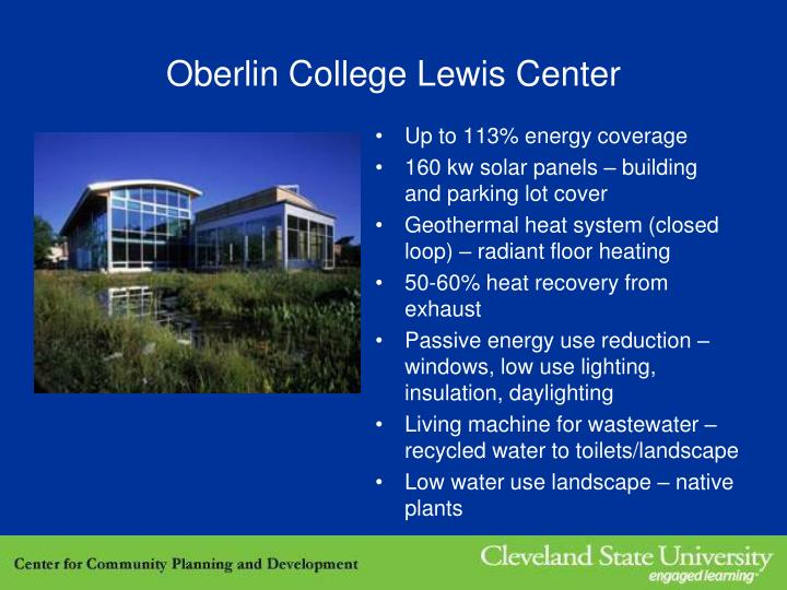 Oberlin College Lewis Center