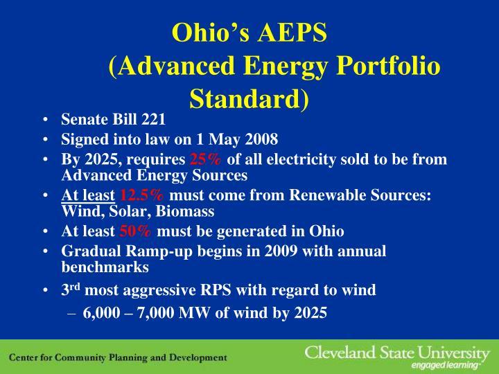 Ohio's AEPS