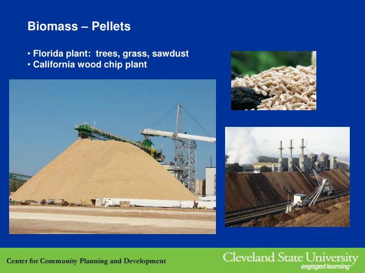 Biomass – Pellets