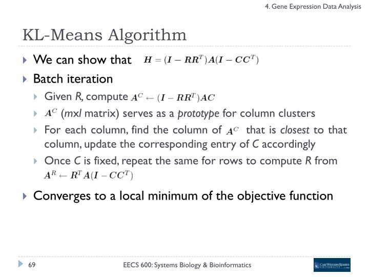 KL-Means Algorithm