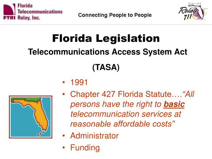 Florida Legislation
