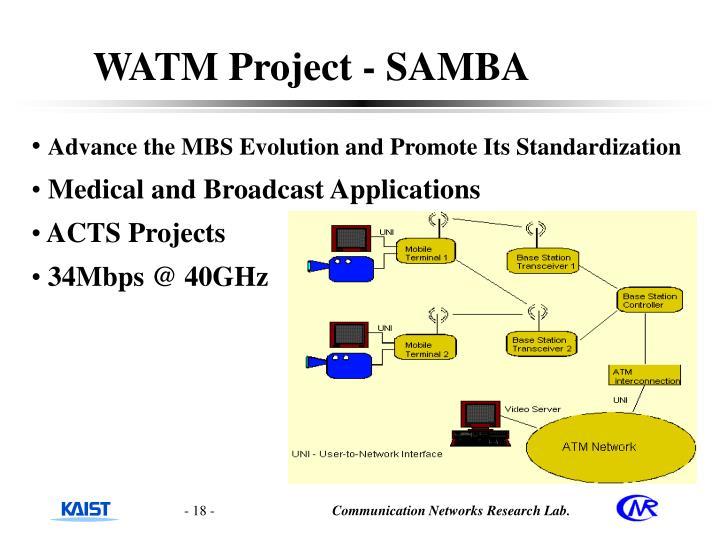 WATM Project - SAMBA