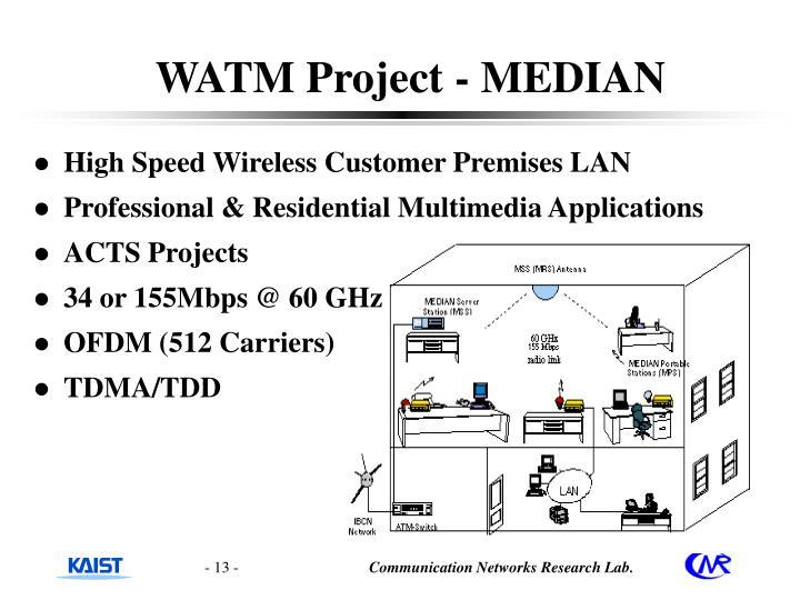 WATM Project - MEDIAN