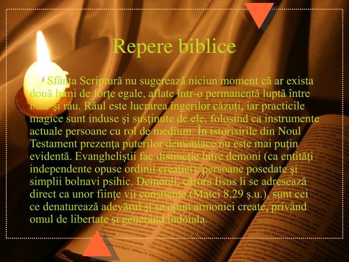 Repere biblice