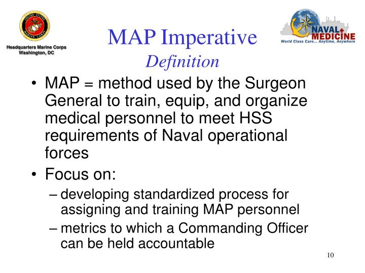 MAP Imperative