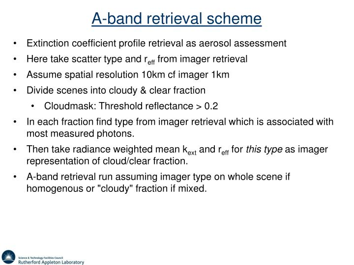 A-band retrieval scheme