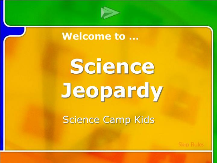 Science camp kids