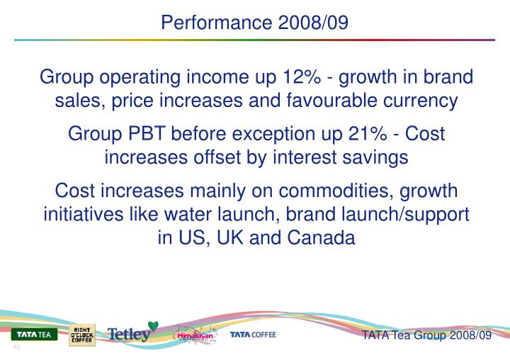 Performance 2008/09