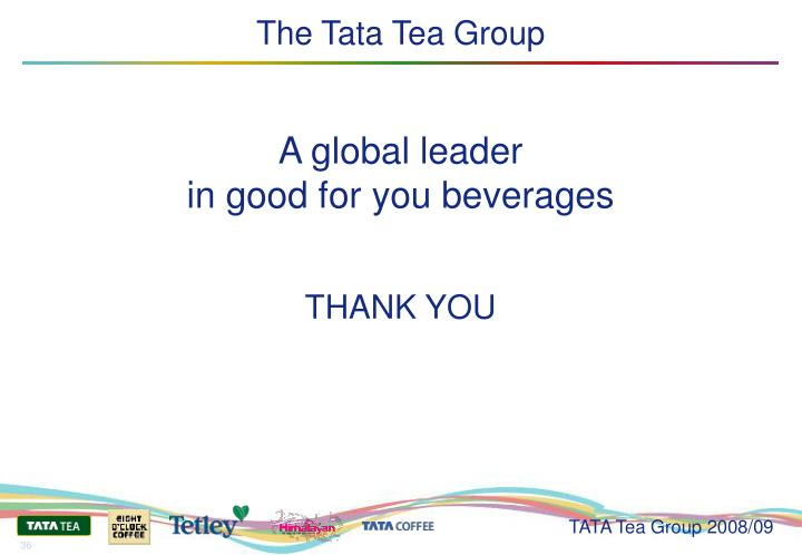 The Tata Tea Group