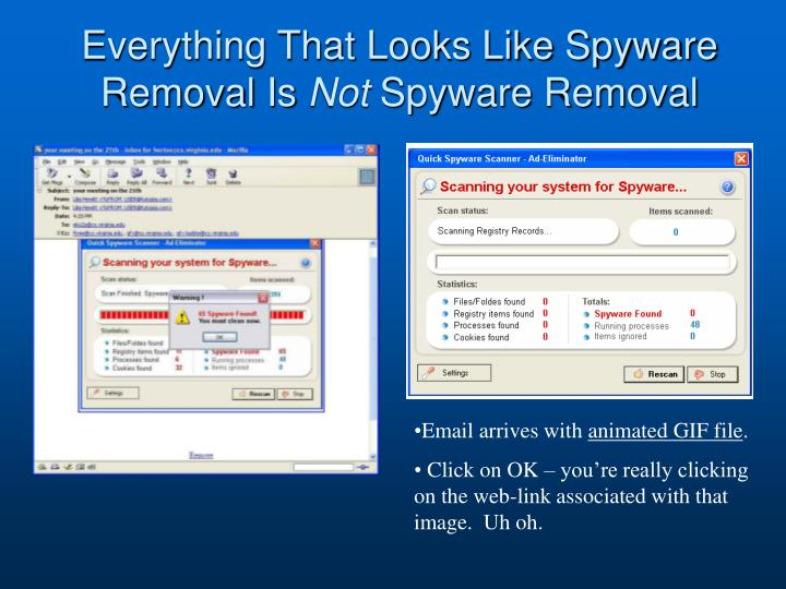 Everything That Looks Like Spyware Removal Is