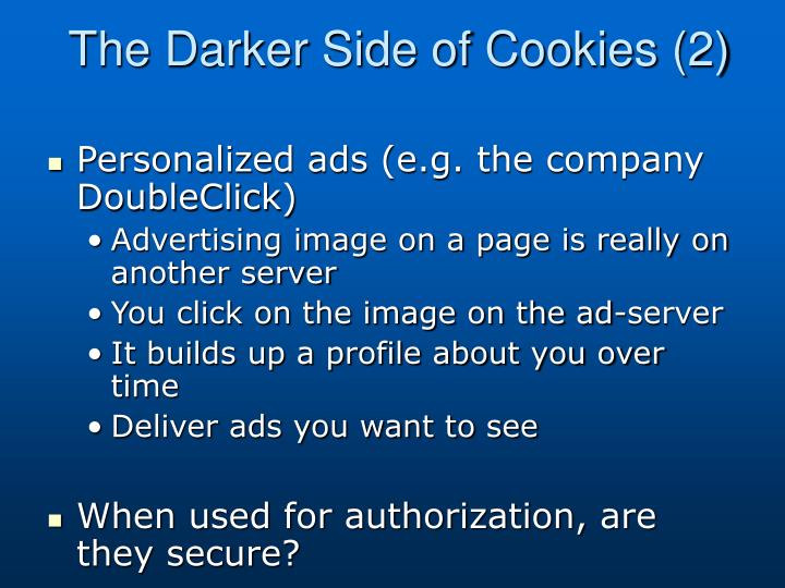 The Darker Side of Cookies (2)