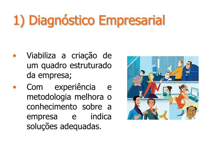 1) Diagnóstico Empresarial