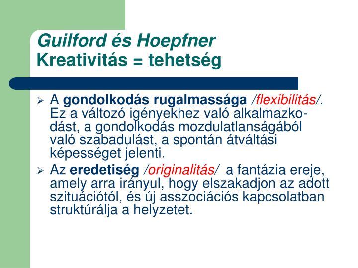 Guilford és Hoepfner