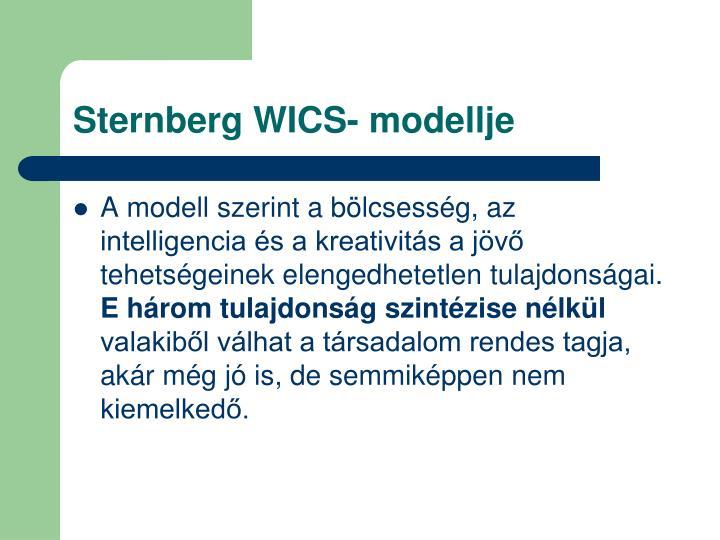 Sternberg WICS- modellje