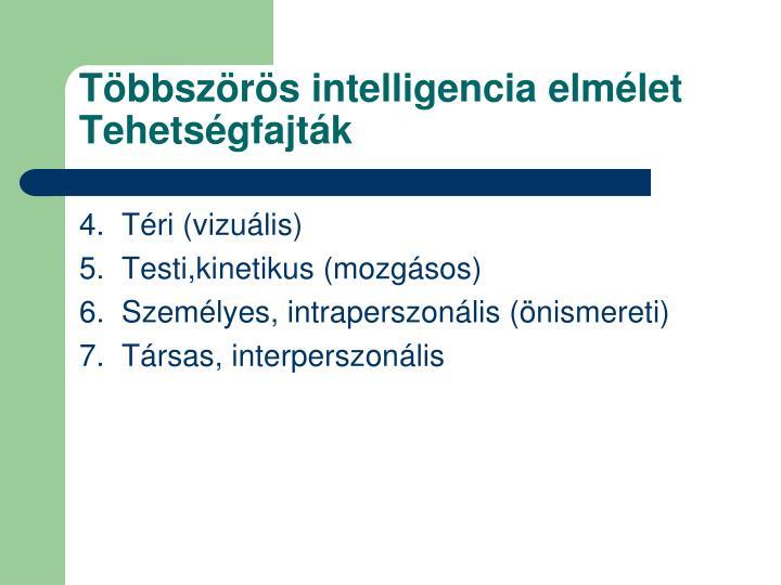 Többszörös intelligencia elmélet