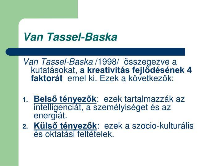 Van Tassel-Baska