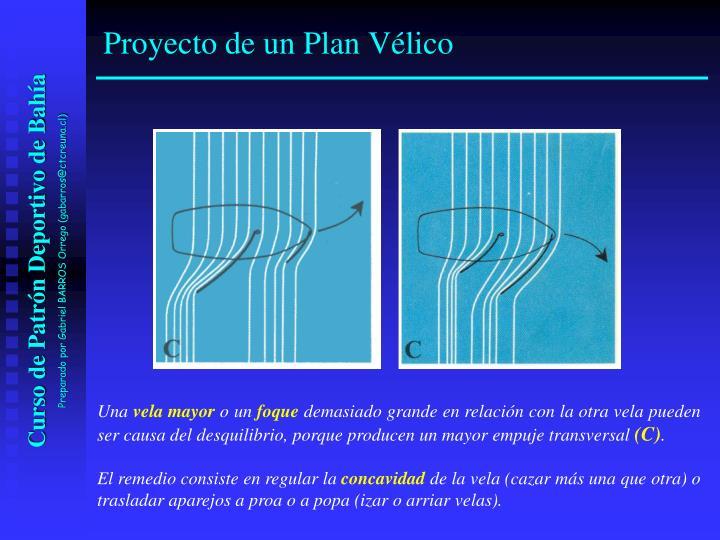 Proyecto de un Plan Vélico