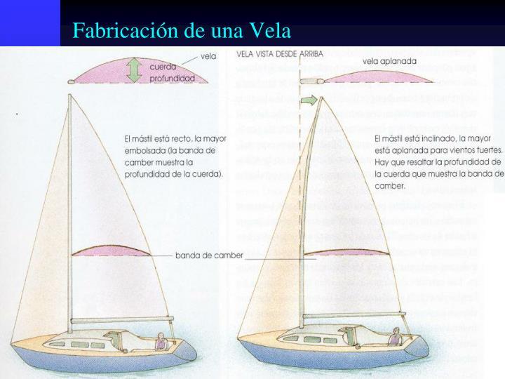 Fabricación de una Vela