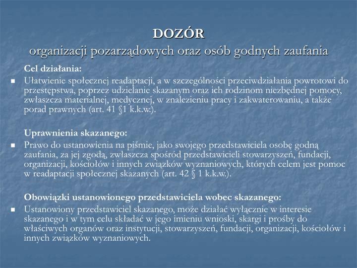 DOZÓR