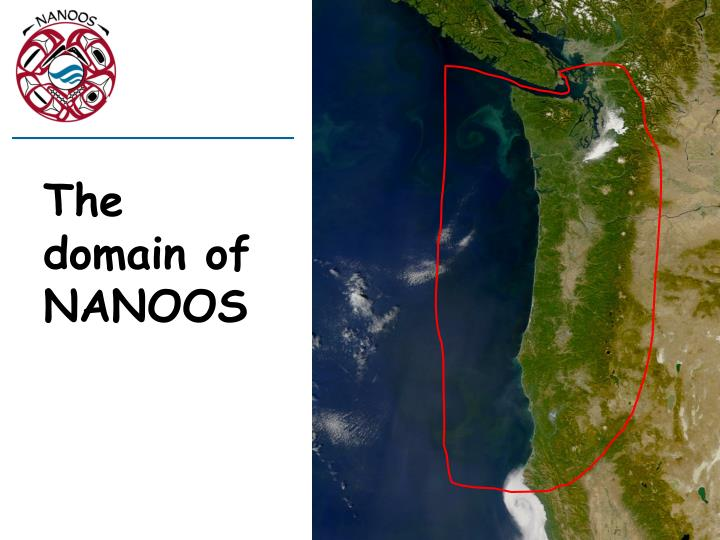 The domain of NANOOS