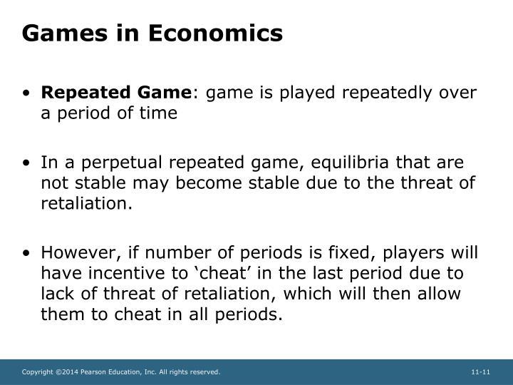 Games in Economics
