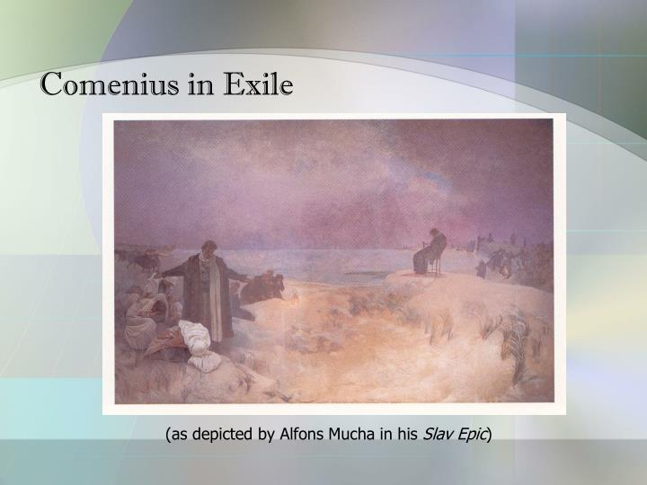 Comenius in Exile