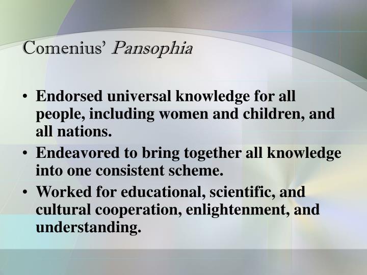 Comenius'