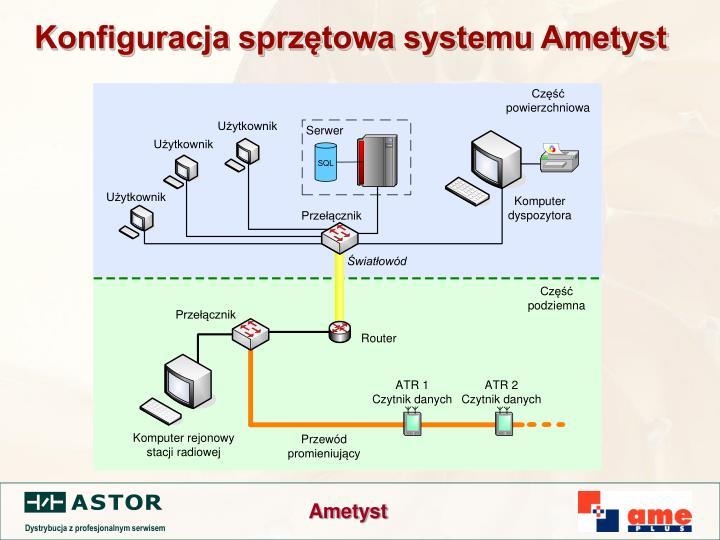 Konfiguracja sprzętowa systemu Ametyst
