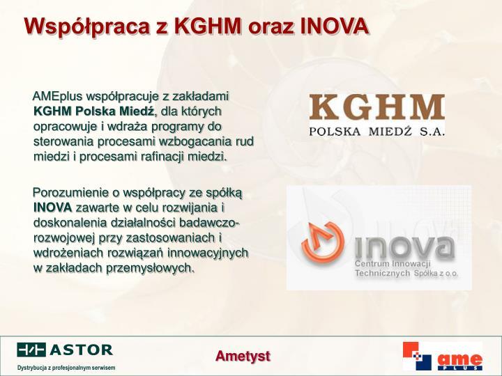 Współpraca z KGHM oraz INOVA