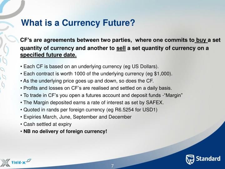 What is a Currency Future?