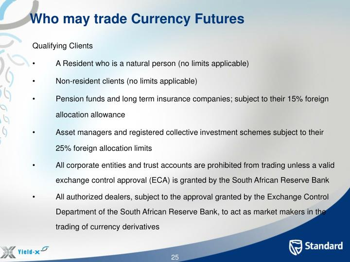 Who may trade Currency Futures
